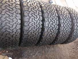 Five new bfgoodrich ko2 sizes 265/65/17 now available