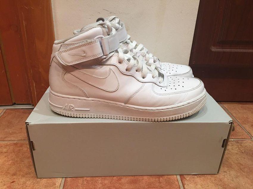 Nike air force 1 mid white 0