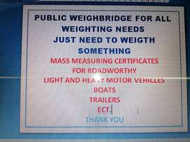 Vehicle weightbridge