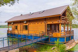 Аренда дома Киев, аренда дома посуточно, дом на воде Гидропарк