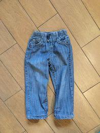 Джинсы утеплённые, теплые на подкладке зимние штаны на 3 года 98 см