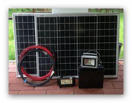 Panel Słoneczny do przyczepy i Domku Altany Działki