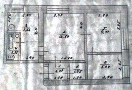 Продам 3-х комнатную квартиру в Снигиревке