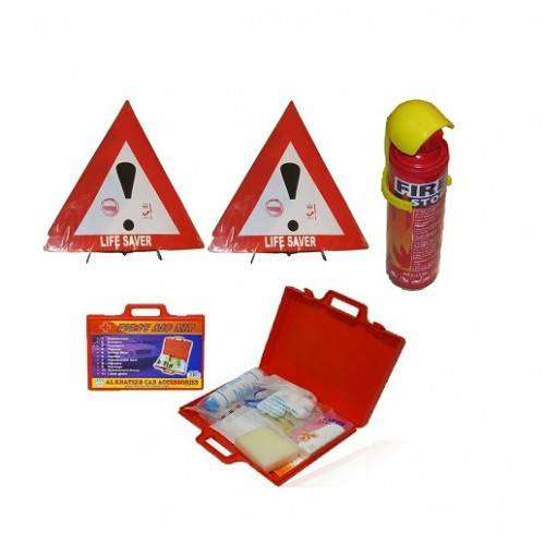 Life Saver, Fire Extinguisher & First Aid Kit Set 0