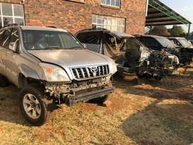Toyota Prado 120 series for breaking