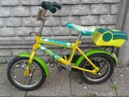 Rowerek dziecinny Monkey zielono-żółty za 69zł.
