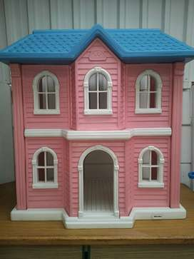 Big doll house with furniture