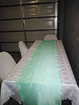 HIRE Tables, Chairs, Gas Stove, Pots, Table cloths,& Chair Covers