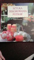 Książka kulinarna sztuka dekorowania potraw prezent