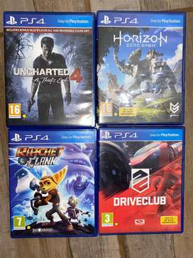 Ps4 games. 200 each or 600 for all