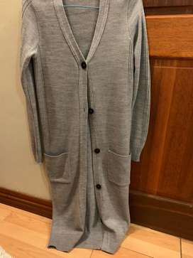 Grey Jersey with buttons