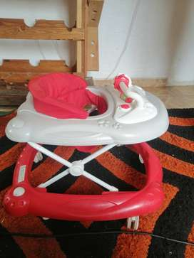 Stroller with car seat plus walking wheel for sale
