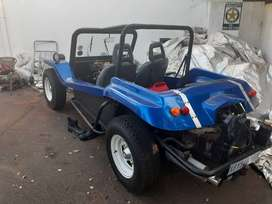 Blue Beach Buggy