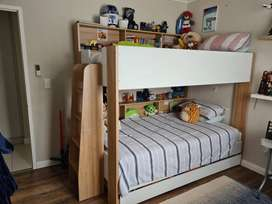 Adventure 3 Sleeper Bunk Bed with 3/4 Beds and Underbed R75000