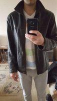 Кожаная куртка мужская, как новая