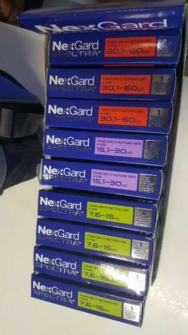 Nexguard and nexguard spectra Now on special ,call for prices