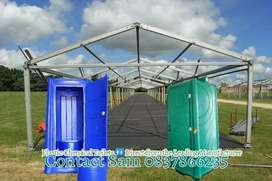 Plastic Chemical Portable Vip Mobile Toilets Freezers Chillers Tentd