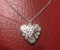 Кулон «Сердце» Mary Kay,48 см,серебренное напыление