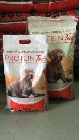 PROTEIN FEED DOG FOOD 25KG AT R350