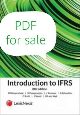 Introduction to IFRS 8th edition PDF