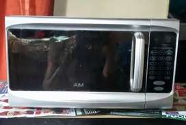 AIM Silver Microwave For Sale