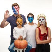 Грим на Halloween, аквагрим для детей и взрослых, пластический грим