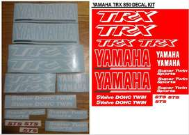 Yamaha TRX 850 stickers decals graphics sets
