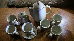 Сервиз кофейный, чайный. Расцветка песочная, перепелиные яйца.