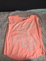 Neonowa bluzka cropp rozmiar S