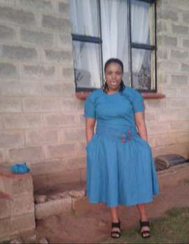 Lesotho maid and nanny with refs available for strictly stay in work