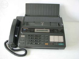 Panasonic KX F130 Тел.-факс.аппарат и 8 рулонов термобумаги