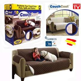 Couch Coat – 2 Seater Reversible Sofa Cover
