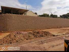 RETAINING WALL AND BOUNDARY WALLS NO % DEPOSIT REQUIRED.