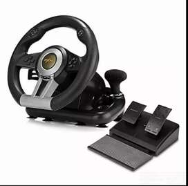 Brand new Racing Wheel Set for PC,PlayStation3, PlayStation4, XboxOne