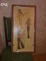 Продам картину египетские музыканты, Египет, на подарок