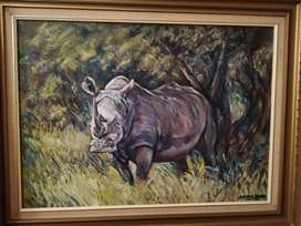 Original oil painting by Brian Shear