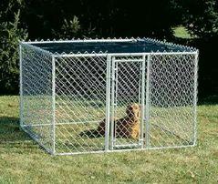 Изготовление вольеров (клеток) для собак.