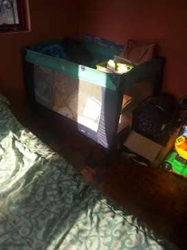 Cot for sale and toys