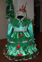 Продам новогодний костюм Елочка на возраст 5-7 лет