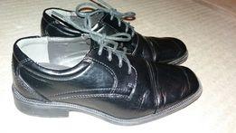 Buty chłopięce eleganckie wyjściowe do garnituru komunijne komunia 37