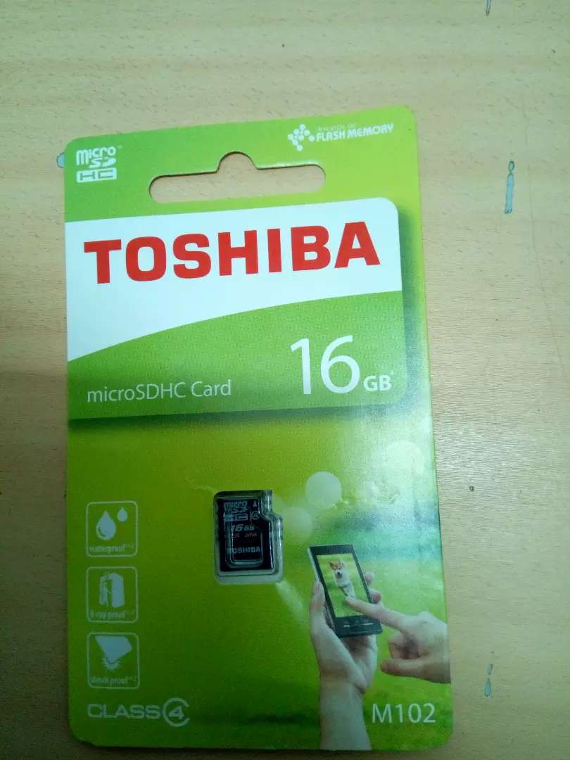 16GB Mem Card Toshiba 0