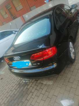 Audi A4, Black, diesel, very good condition