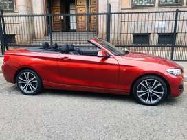 2018 BMW 220 Convertible
