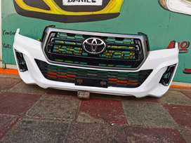 Toytoa hilux GD6 bumper with grille