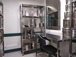 Столы и мебель из нержавеющей стали для профессиональной кухни
