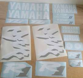 1988 Yamaha YZF R1 decals stickers kit
