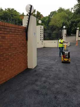 INDUSTRIAL AND DOMESTIC TAR SURFACING