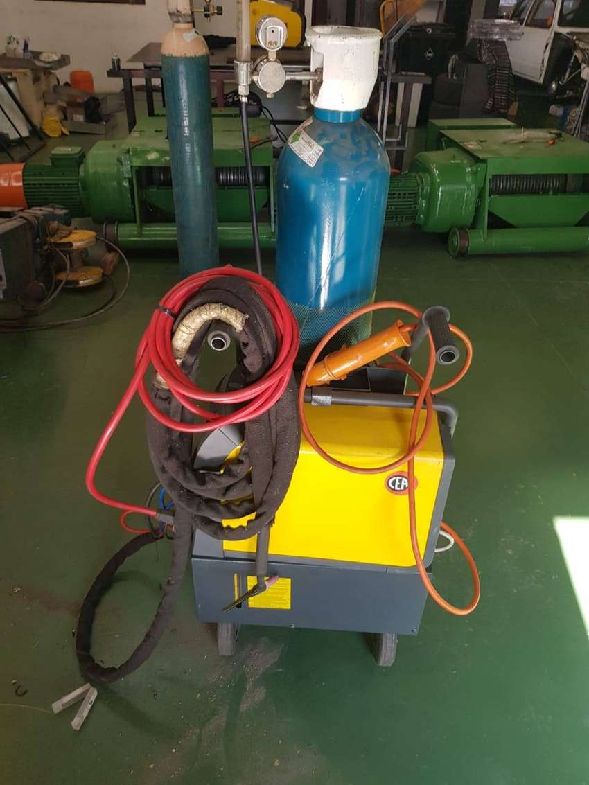 CEA Dc Tig welder for sale with water cooler and water cooled torch 0