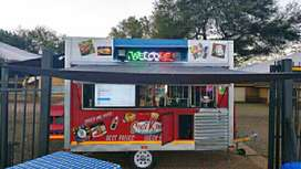 Catering Food Trailer Advertising