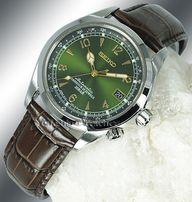 НОВЫЕ | ОРИГИНАЛ: Легендарный зелёный АЛЬПИНИСТ Seiko SARB017. JAPAN!